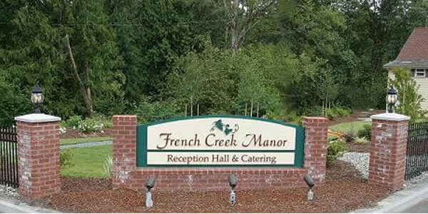 French Creek Manor Entrance
